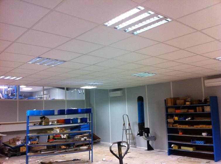 Precimecan france 3 oficina modulares techos falsos - Techos modulares ...